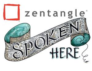 Zentangle Spoken Here